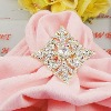 Fashion Rhinestone Napkin Ring,crystal Napkin Ring
