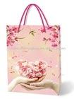 Wedding door gift paper bags with handles