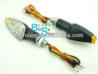 Universal Motorcycle Double color LED Turn Signal Light Running light