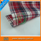 Checks Design CVC Yarn Dyed Fabric for Shirt