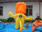 2012 vivid design advertising moving inflatable cartoon