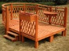 wooden outdoor Gazebo