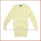 Stock: Hot Sale Long Sleeve 100% Wool Sweater Design for Kids