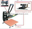 Heat presses for tshirt, high quality heat transfer printing machine