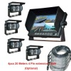 7inch 4ch car Real View Monitor Kits