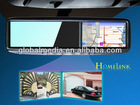auto body interior car GPS rearview mirror monitor for Jaguar, MG , Ssangyong