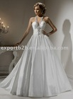 inexpensive newest designer style sexy ball gown wedding dress