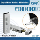 [NO LATENCY] 1080P 5GHz WHDI WIRELESS HDMI STICK 3D A/V SENDER TRANSMISSION SYSTEM