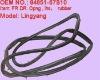 Genuine & high quality suzuki lingyang door opening weaterstrip/seal