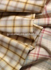 60%Tencel 40%Cotton Yarn Dyed Check Twill Woven