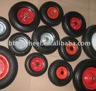 2.50-4,3.00-4,3.50-4,3.50-8,4.00-6,4.00-8, pneumatic wheel