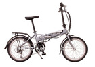 6 speed electric folding bike