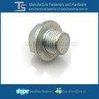 carbon steel grade 8.8 hex washer bolt