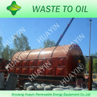 10 tons' waste plastic pyrolysis machine