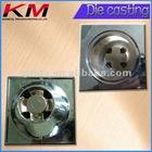 Bath drain bathroom hourglass aluminum casting
