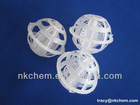 Plastic Pall Ring For Tower Packing Mass Transfer