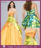 PD0121 - 2010 New Style Strapless Ball Gown Prom dresses Prom Gowns