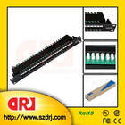 Cat3 25 ports telephone patch panel