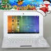10 Inch Cheap Student Computer Mini Laptop Child Netbook,Android4.0 OS,1.2GHz CPU,4GB HDD,WiFi,RJ45 Port,Camera,Christmas Gift