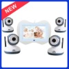Wireless Baby Monitor with 7.0inch LCD , Supporting SD Card Recording