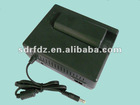 Handset battery power with adaptor with auto switch AC/DC charge mode