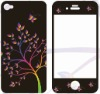 silicone material screen protector for apple iphone 4s 4g