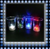 2011 new ! fashionable led lights up of barware flashing plastic beer mugs