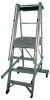 Aluminum Step Castellar Moveable Ladder