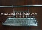 Iron kitchen dish rack