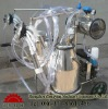 dairy farm equipment on milking machine