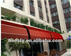 Guangzhou motorized Patio retractable outdoor awning