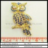 hot selling pretty animal gemstone brooch
