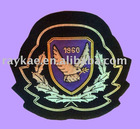 embroided military emblem