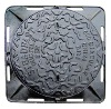 cast iron/grey iron round manhole cover D400