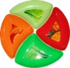 BPA free plastic candy plate set