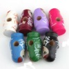 Mixed Painted Russia Moppet Wood Beads Fits European bracelets