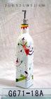 2011 fashion style bottle/Olive oil bottles /glass bottle/home decoration/glassware/glass crafts HOT sales/RH-G-G671