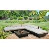 6 pcs patio sofa set