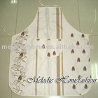 100% Polyester Printed kitchen cooking waist apron