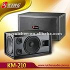 2-Way Full Rang Professional Karaoke Speakers KM-210