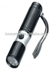 Aluminium LED flashlight/ rechargeable LED torch