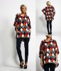 2012 woman unique cheap sexy fashion pullover cardigan sweater