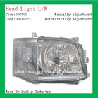 Hiace 2010-2011 Manually/Automatically Head Light #000700 headlamp for hiace New hiace parts