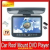Top quality low price 9 inch Roof Mount DVD player with MP3 MP4 Game player