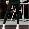 black lady winter leggings