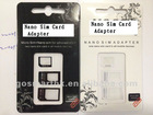 Nano Sim Card adapter for Iphone 5