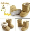 3 colors winter baby snow boots