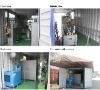 Mobile cage welding machine line