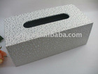 2011 Chic Luxury rectangular car white tissue box
