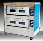 2012 stainless steel,steam,Gas Deck Oven